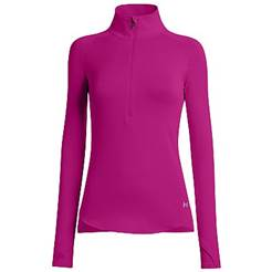 Under Armour W Qualifier 1/2 Zip Shirt - Purple 1248733-600