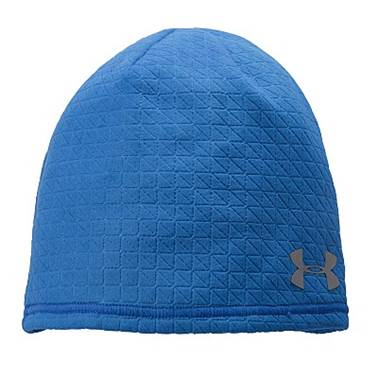 Under Armour Emboss Run Beanie - Blue 1248692-406